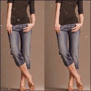 7 for all mankind DOJO crop jeans